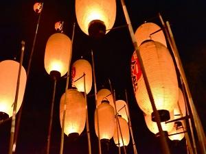 日本三大儀式祭りの一つ白河提灯祭り